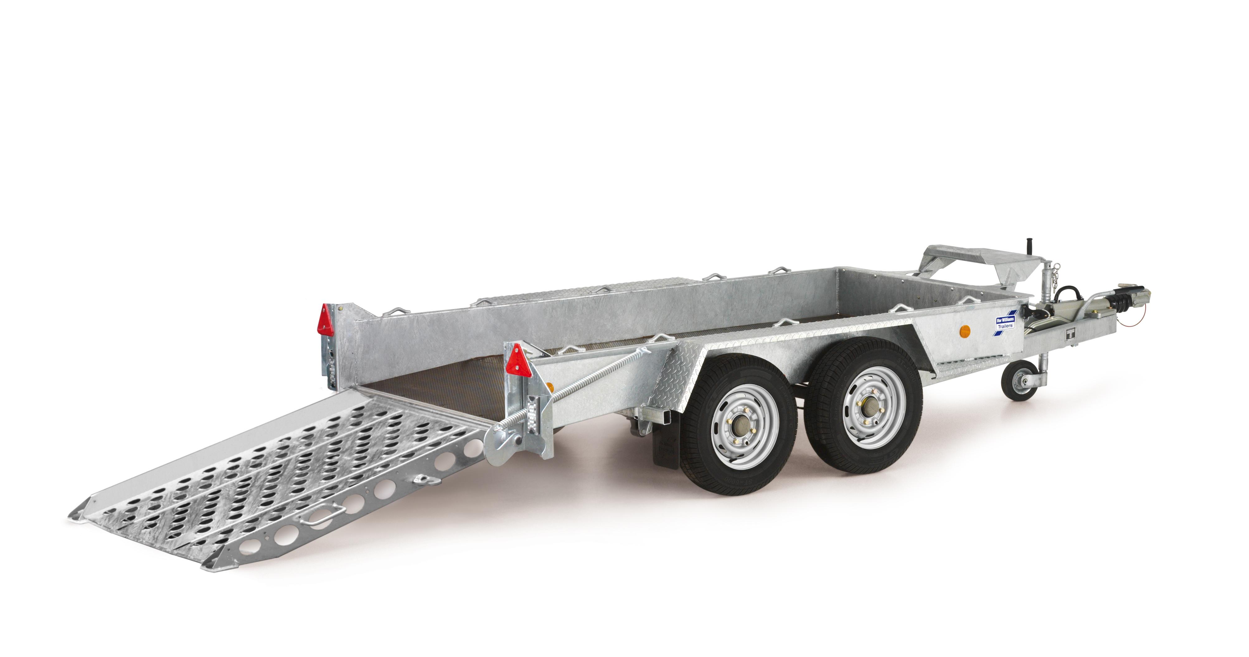 Micro Machine Hire, concrete crusher hire and trailer hire