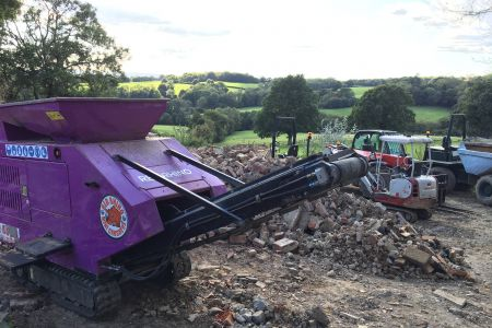 Small concrete crusher in Kent